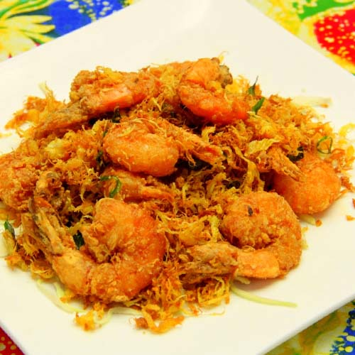 AROMATIC COCONUT SHRIMP