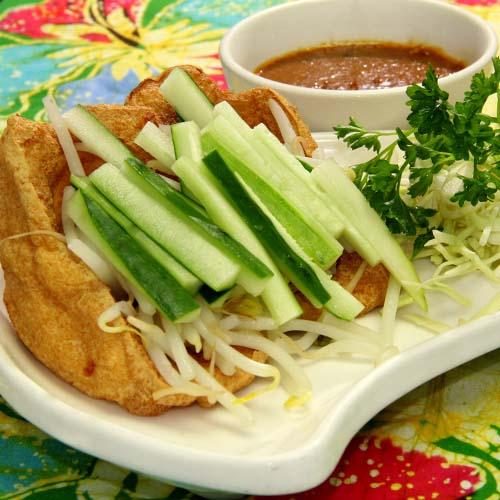 Satay Tofu (2 Pcs)