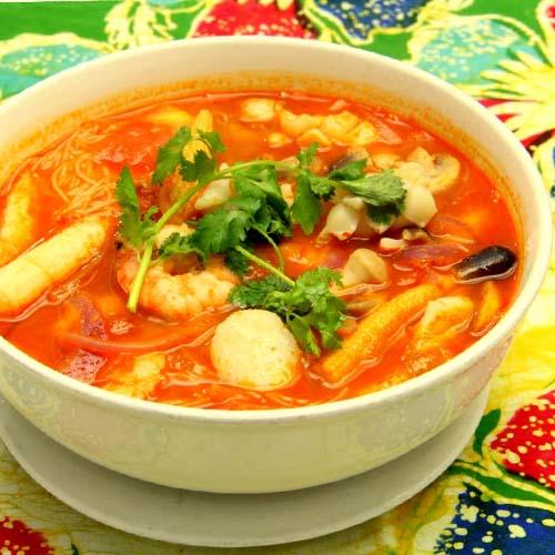 Seafood Tomyam soup